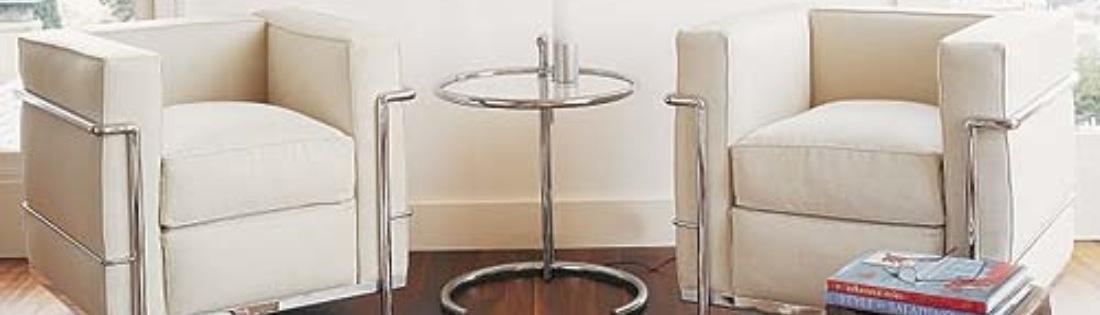 Barcelona stoelen + hockers, Mies van der Rohe, Topkwaliteit 100% Made in Italy !