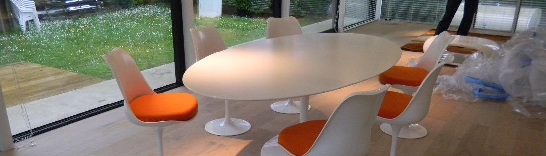 Tulp tafels met een laminaat toplaag !
